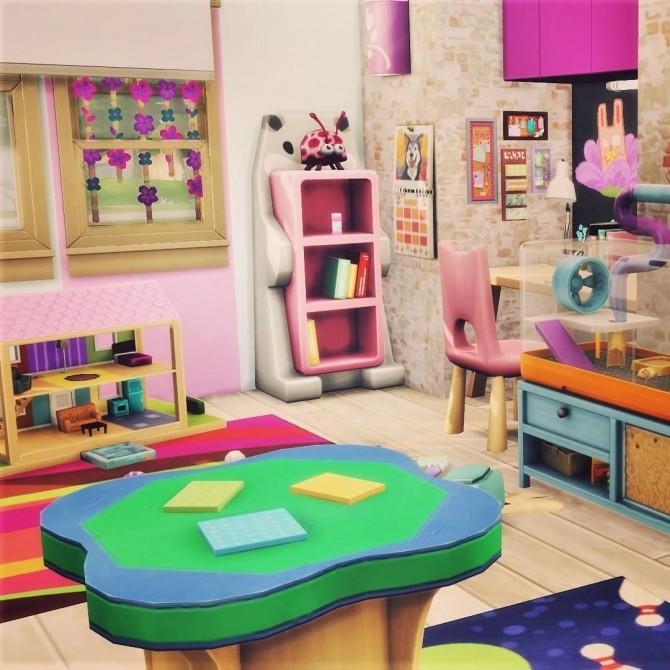 Sims 4 Study Kids Room at Agathea k
