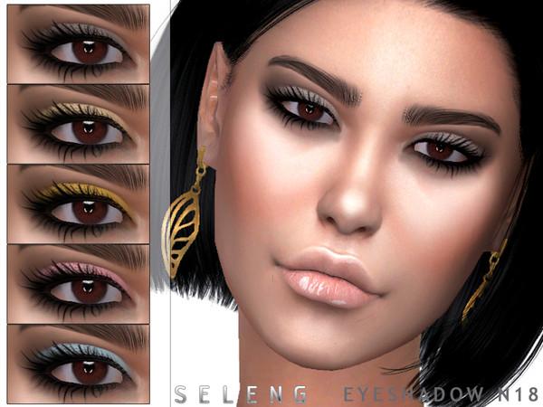 Sims 4 Eyeshadow N18 by Seleng at TSR