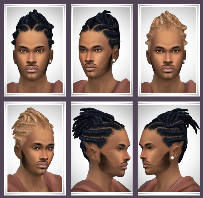 Sims 4 Wood's Twist Dreads at Birksches Sims Blog