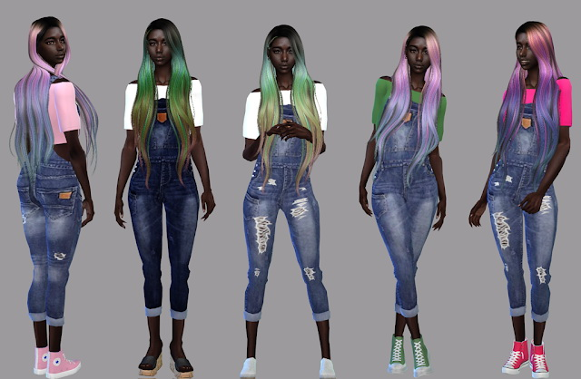 Sims 4 The Only One outfit at Teenageeaglerunner
