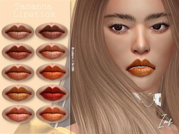 IMF Tazanna Lipstick N.204 by IzzieMcFire at TSR image 2137 Sims 4 Updates