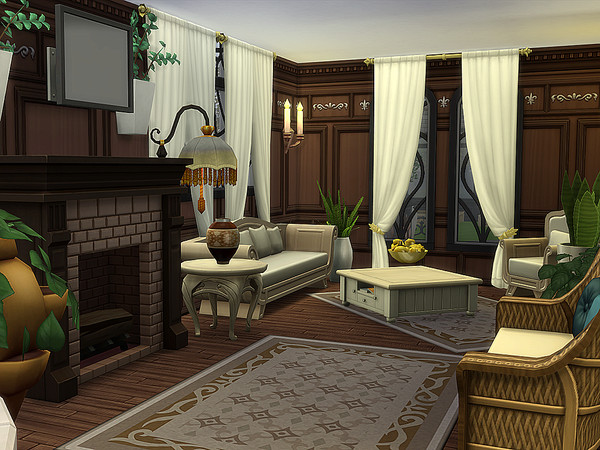 Reitzell Estate by Ineliz at TSR image 2148 Sims 4 Updates