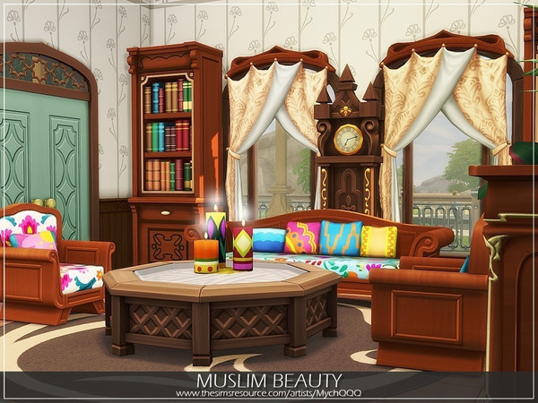 Sims 4 Muslim Beauty house by MychQQQ at TSR