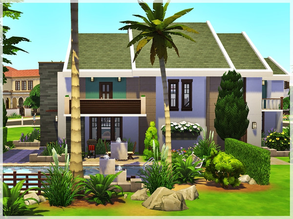 Afternoon Delight house by Ray Sims at TSR image 2150 Sims 4 Updates