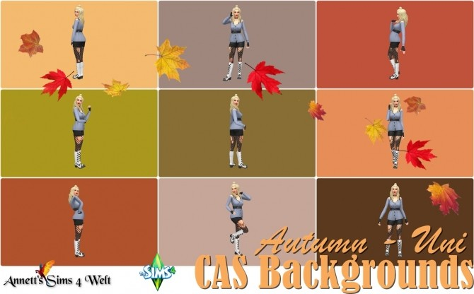 CAS Backgrounds Autumn Uni at Annett's Sims 4 Welt image 2155 670x416 Sims 4 Updates