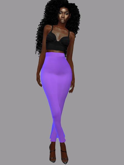 Sims 4 Jana Long Skirt Set at Teenageeaglerunner