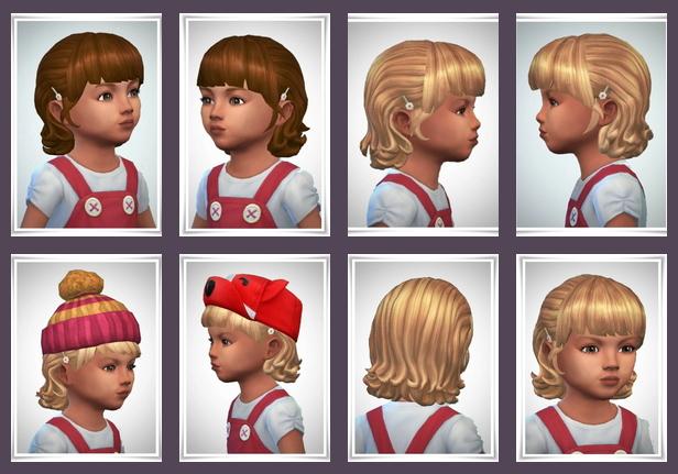 Sims 4 Tiny Mina Curls at Birksches Sims Blog