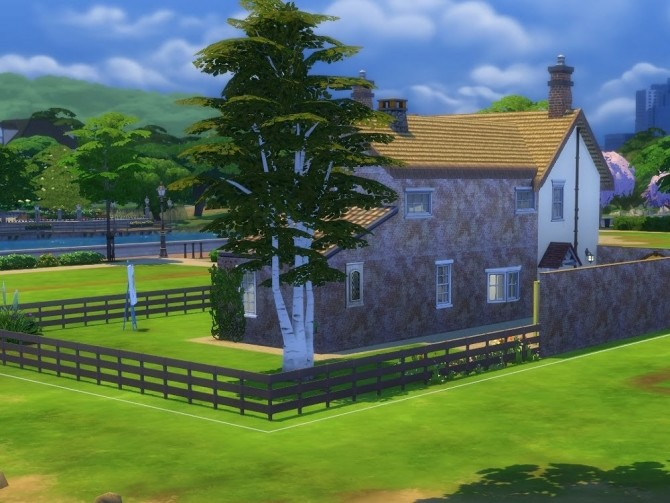 Sims 4 Little Furze house at KyriaT's Sims 4 World
