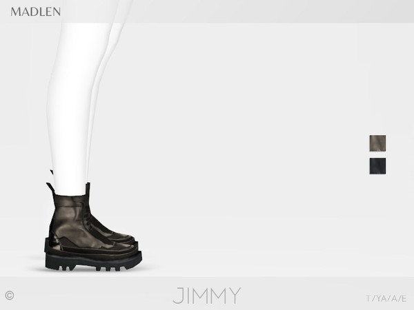 Madlen Jimmy Boots by MJ95 at TSR image 2227 Sims 4 Updates