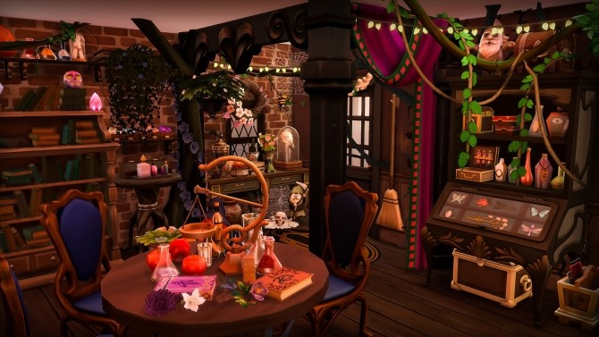 Sims 4 The Witchs Treehouse at Ruby's Home Design