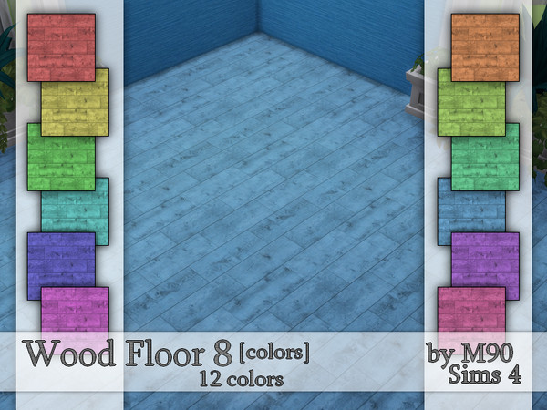 Wood Floor 8 (colors) by Mircia90 at TSR image 232 Sims 4 Updates