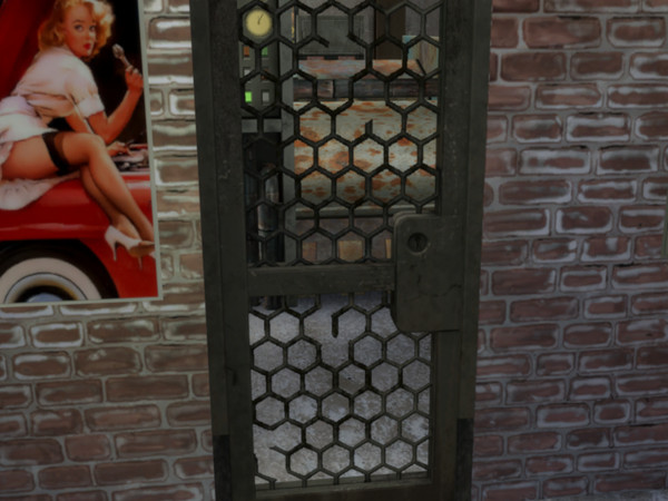 Sims 4 Apocalypse Security Door by Citrine Witch at TSR