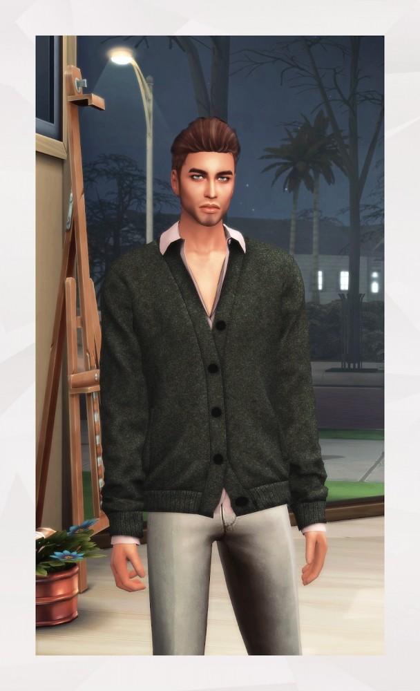 Cardigan & Shirt at Gorilla image 2382 608x1000 Sims 4 Updates