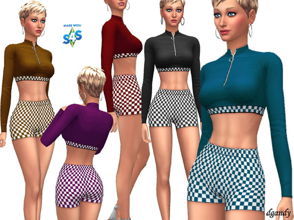 Sims 4 Short Set 201909 02 by dgandy at TSR
