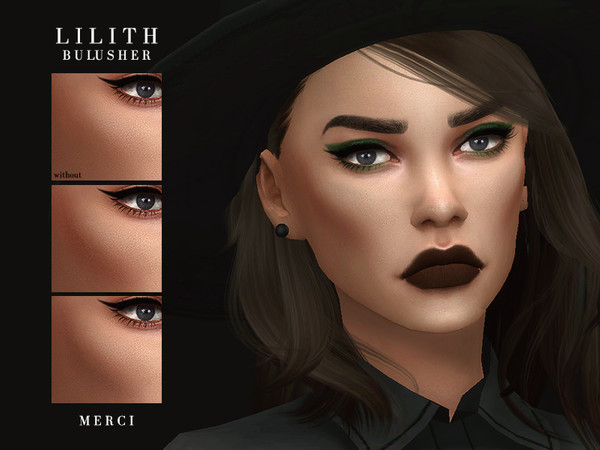 Sims 4 Lilith Blusher by Merci at TSR