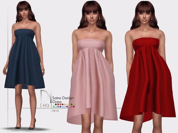 Satre Design Dress by DarkNighTt at TSR image 2425 Sims 4 Updates