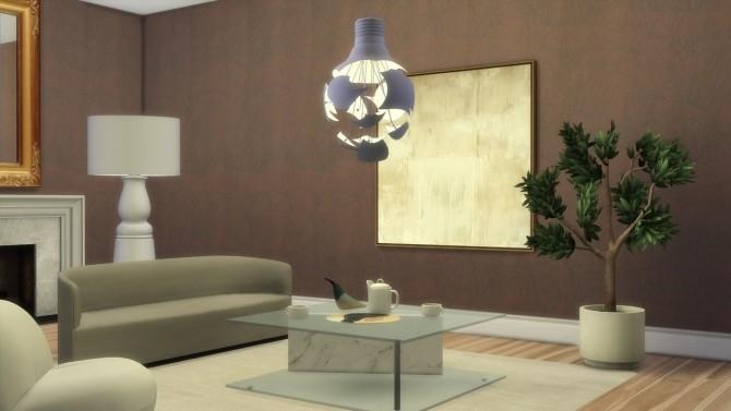 SCHEISSE PENDANT LAMP at Meinkatz Creations image 2491 670x377 Sims 4 Updates