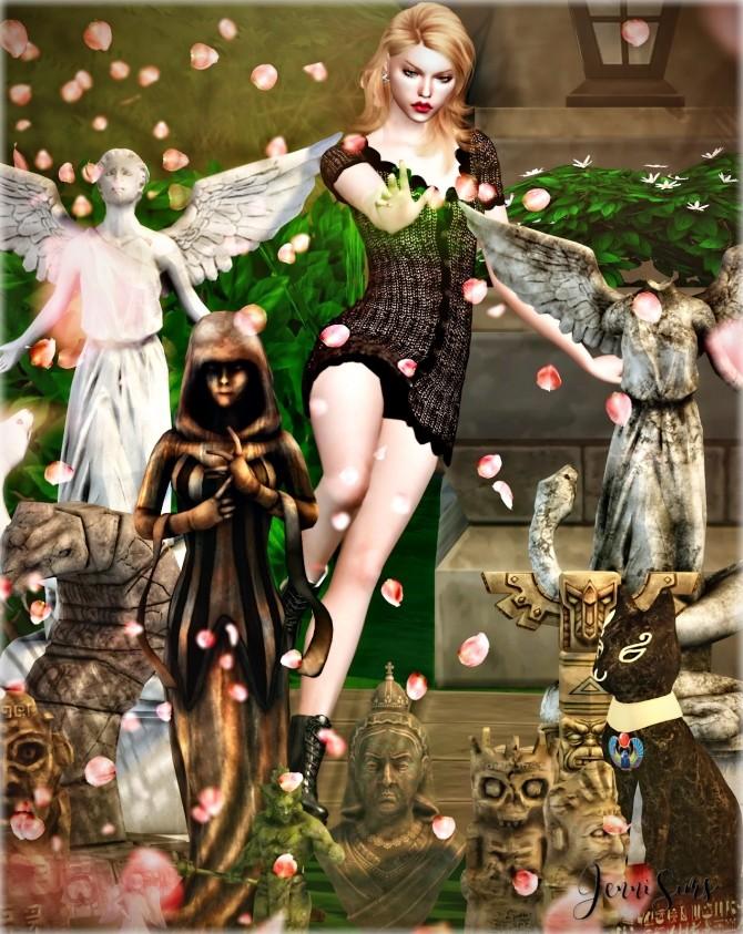Decorative Statues Secretly 12 Items at Jenni Sims image 2492 670x843 Sims 4 Updates
