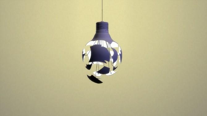 SCHEISSE PENDANT LAMP at Meinkatz Creations image 25110 670x377 Sims 4 Updates
