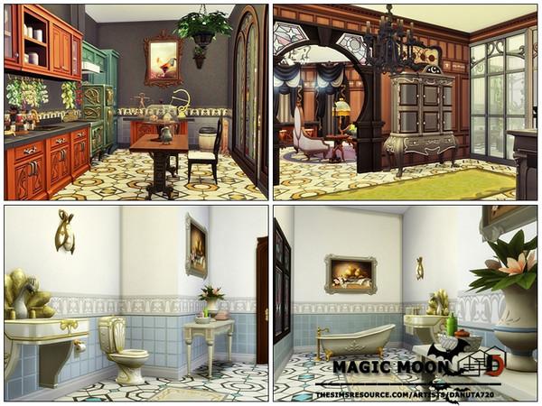 Sims 4 Magic Moon house by Danuta720 at TSR