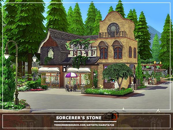 Sims 4 Sorcerers stone home by Danuta720 at TSR