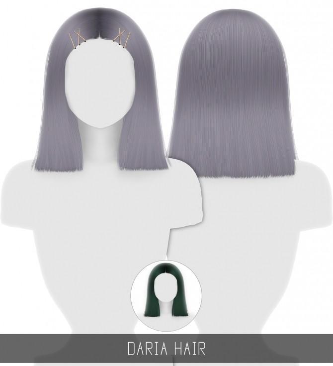 Sims 4 DARIA HAIR + TODDLER & CHILD at Simpliciaty