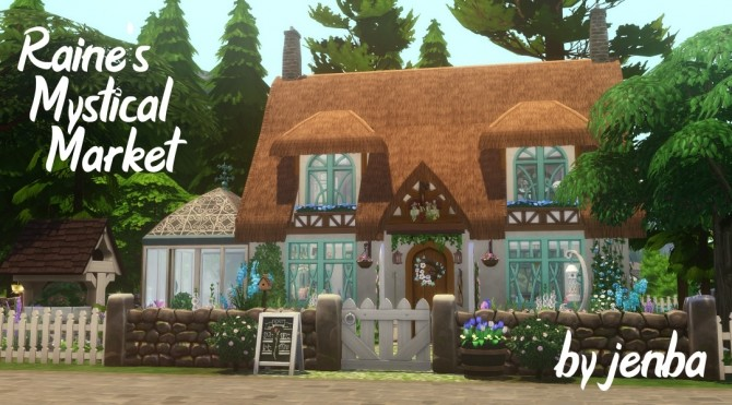 Sims 4 Raine's Mystical Market at Jenba Sims