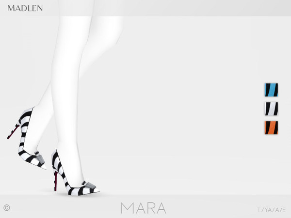 Madlen Mara Shoes by MJ95 at TSR image 2625 Sims 4 Updates