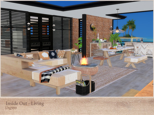 Inside Out Living by ung999 at TSR image 270 Sims 4 Updates