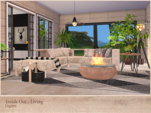Inside Out Living by ung999 at TSR image 2711 Sims 4 Updates