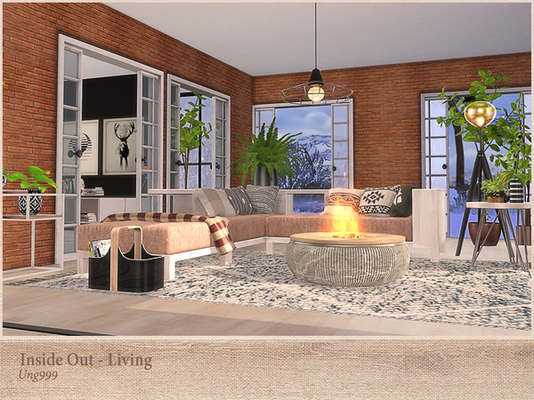 Inside Out Living by ung999 at TSR image 272 Sims 4 Updates