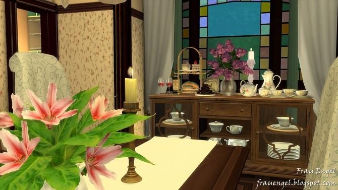 Sims 4 Charmed Halliwell Manor at Frau Engel