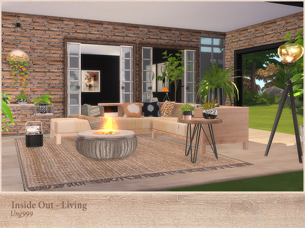Inside Out Living by ung999 at TSR image 273 Sims 4 Updates