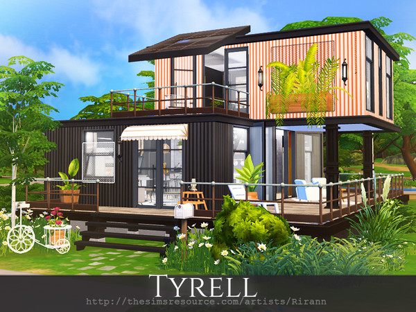 Tyrell house by Rirann at TSR image 2730 Sims 4 Updates
