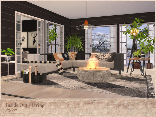 Inside Out Living by ung999 at TSR image 274 Sims 4 Updates