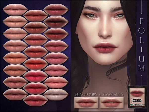 Folium Lipstick by RemusSirion at TSR image 2816 Sims 4 Updates