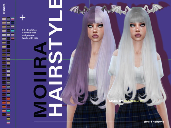 Moiira Hair by Leah Lillith at TSR image 2922 Sims 4 Updates