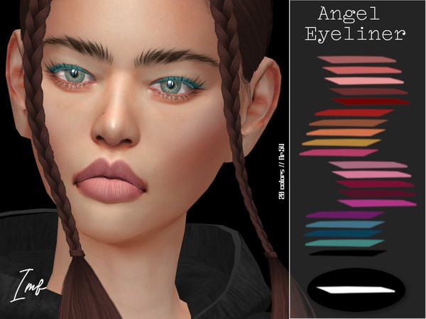 Sims 4 IMF Angel Eyeliner N.54 by IzzieMcFire at TSR