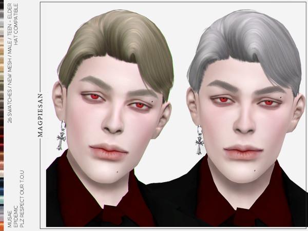 Epidemic Hair by magpiesan at TSR image 293 Sims 4 Updates