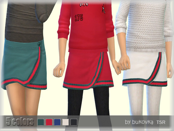 Skirt Child by bukovka at TSR image 3017 Sims 4 Updates