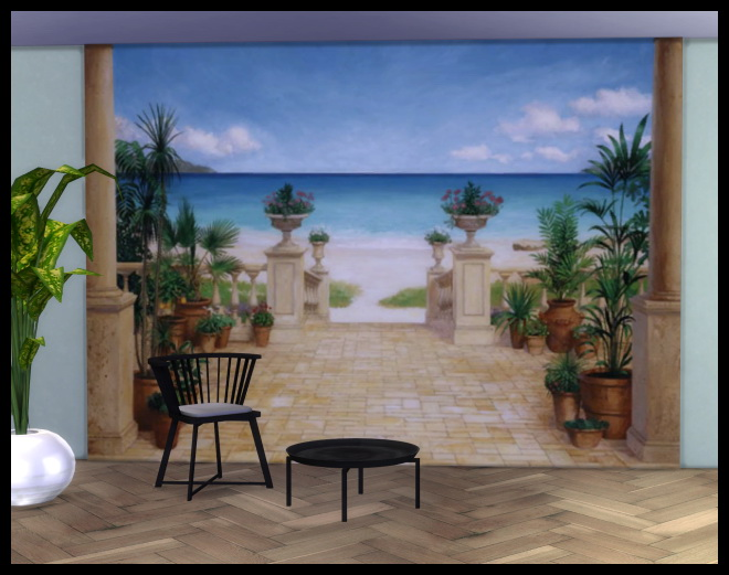 Sims 4 Wall Decall by Chalipo at All 4 Sims