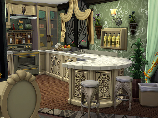 Reitzell Estate by Ineliz at TSR image 3105 Sims 4 Updates