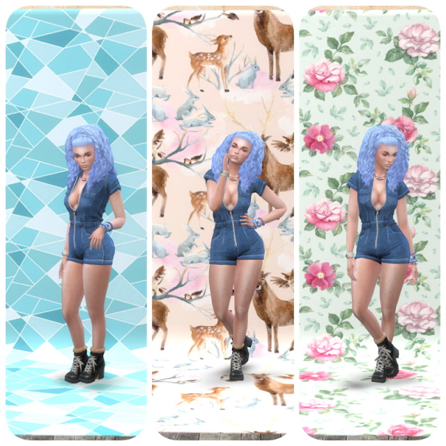 Moschino Stuff Photo Walls Pattern at Annett's Sims 4 Welt image 312 Sims 4 Updates