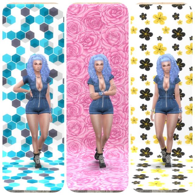 Moschino Stuff Photo Walls Pattern at Annett's Sims 4 Welt image 313 Sims 4 Updates