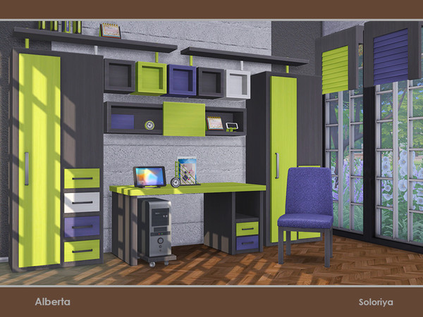 Alberta office by soloriya at TSR image 3212 Sims 4 Updates