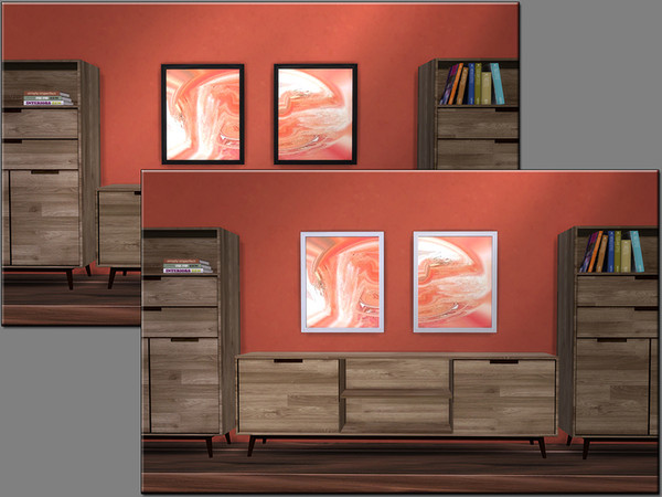 MB Impressive Marble paintings by matomibotaki at TSR image 3218 Sims 4 Updates