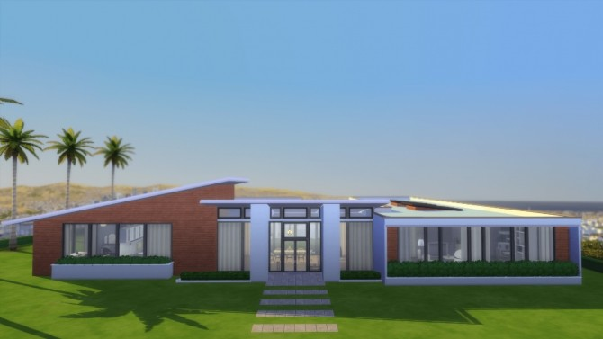 Modern California house by RayanStar at Mod The Sims image 337 670x377 Sims 4 Updates