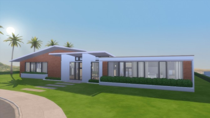 Modern California house by RayanStar at Mod The Sims image 338 670x377 Sims 4 Updates