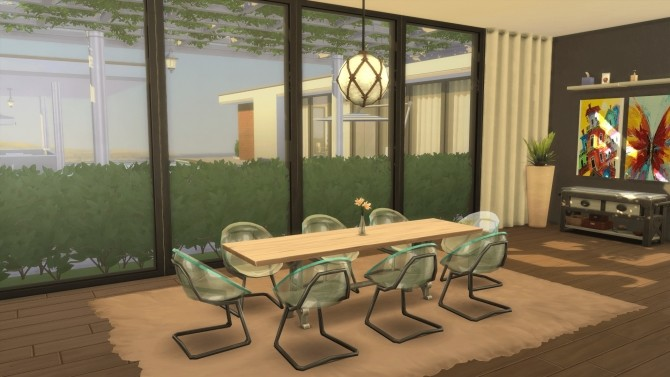 Modern California house by RayanStar at Mod The Sims image 339 670x377 Sims 4 Updates