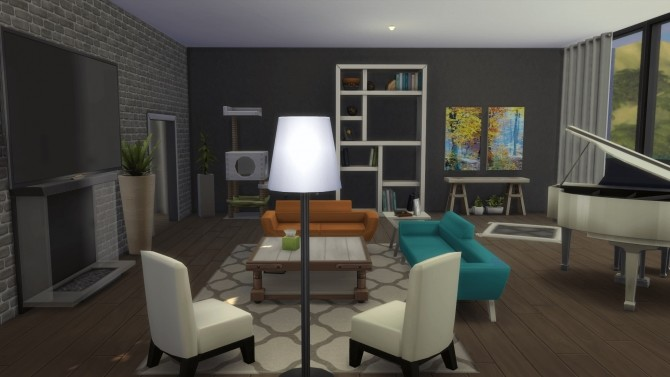 Modern California house by RayanStar at Mod The Sims image 340 670x377 Sims 4 Updates